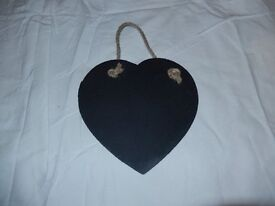 Slate Heart / Chalk board: Large: Valentine's Day