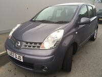 NISSAN NOTE 1.6 AUTOMATIC very low miles