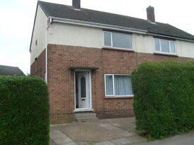 Unfurnished 2 bed semi-detached house for rent. Internal Photos now loaded