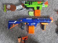 Set of 3 Nerf Guns
