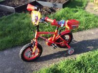 "Apollo Firechief Kids' Bike - 12"""