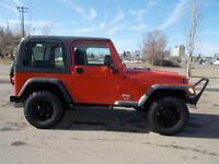 2006 Jeep TJ TRAIL EDITION 4X4