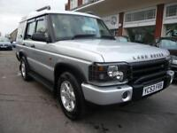 LAND ROVER DISCOVERY 2.5 TD5 GS 7STR 5d 136 BHP (silver) 2004