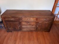 Sideboard made of Indian hard wood