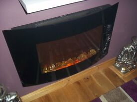 two electric fires for sale