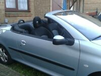 Peugeot 206cc Convertible only £650 ovno