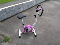 Cross trainer & exercise bike