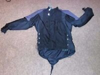 Four motorcycle jackets