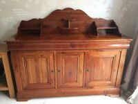 MultiYork Cherry Wood Sideboard/Buffet