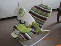 Mamas and Papas Baby Bouncer Chair with Music