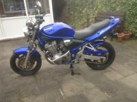 Suzuki bandit 600, 2002 model,very low mileage,full service history,stunning condition,