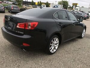 2012 Lexus IS 250 Show Room Condition Paddle Shift Awd  Black On Kitchener / Waterloo Kitchener Area image 6