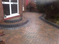 DRIVEWAYS TO SUIT YOU, FULLY GUARANTEED, BLOCK PAVING, MONOBLOCK, SLABS, CHIPS AND KERBS LOWERED