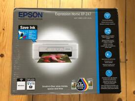 Epson expression Home XP-247 printer. Brand new, wi-fi, print, copy and scan