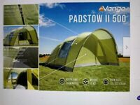 Brand new Vango Padstow 500 5 Person Family Tent