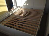 IKEA Brimnes double bed frame