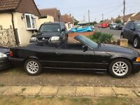 Bmw 323 convertible, 1999, black, power hood, great example of these cars, enjoy the summer