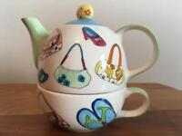 Teapot/cup for one