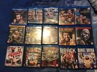 15 WWE Blurays