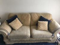 Cheap sofas for sale - 3 seater and 2 seater