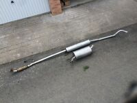 Like new corsa c exhaust from 1.2
