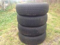 4 Bridgestone tyres