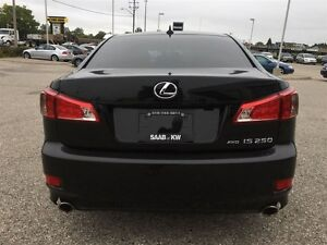2012 Lexus IS 250 Show Room Condition Paddle Shift Awd  Black On Kitchener / Waterloo Kitchener Area image 5
