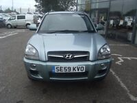 2010 59 HYUNDAI TUCSON 2.0 PREMIUM CRDI 5d AUTO 148 BHP ** GUARANTEED FINANCE ** PART EX WELCOME *