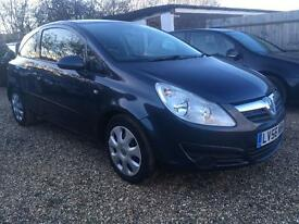 VAUXHALL CORSA 1.2 club 3DR LOW MILEAGE IDEAL FIRST CAR