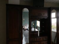FOR SALE 3 PIECE MAHOGANY BEDROOM FURNITURE