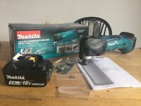 new makita 18v multitool dtm51 + 4ah battery. bl1840 + dtm51z multicut with fast blade release.