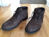 Dark brown men's Timberland boots 10.5 UK