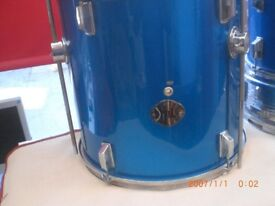 stagg 16 inch side tom metalic bluse