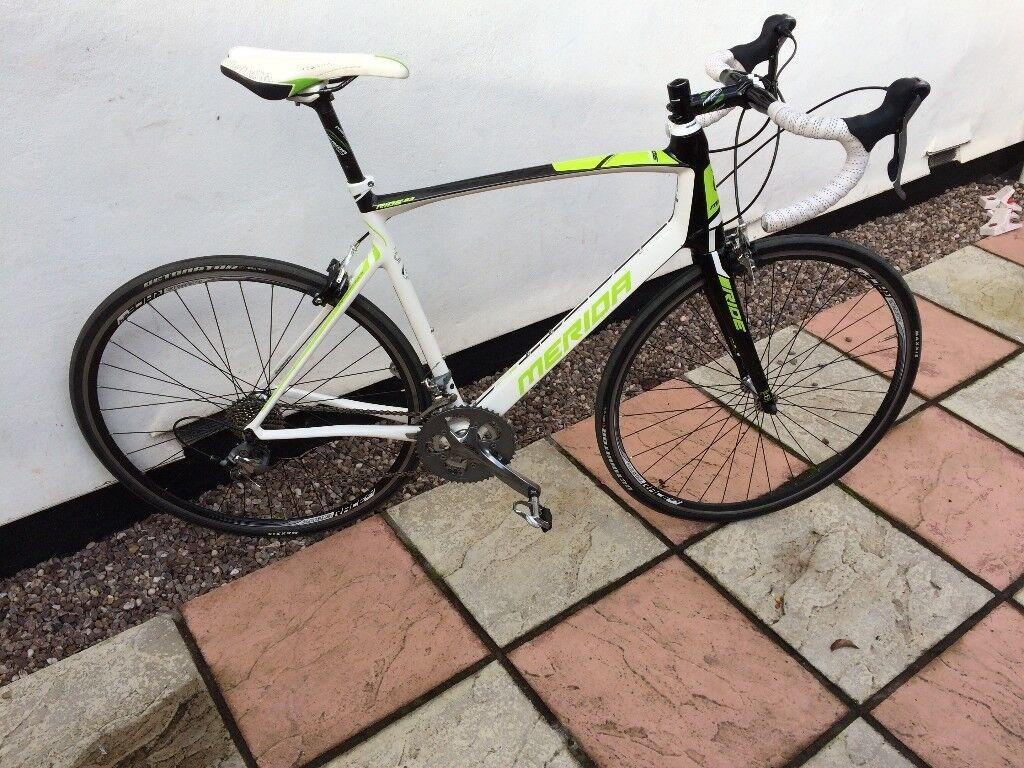2013 Merida Ride Comp 93 full CARBON road bike LARGE