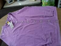 Ladies cardigan new M&S size 24