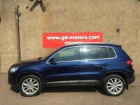 VW TIGUAN 1.9 TDI SPORT (08) 1 YEAR MOT , WARRANTY NOT FREELANDER SPORTAGE RAV X5 JEEP