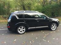 2007 MITSUBISHI OUTLANDER ELEGANCE DI-D BLACK 7 SEATER FULLY LOADED