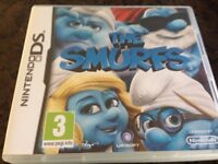 The Smurfs Nintendo DS game (Good condition, Boxed)