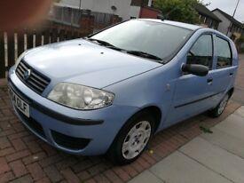 Fiat punto 1.2 active 4dr hatch 54 plate . Economical car