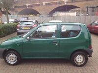 Fiat Seicento 1.1 S 3dr. 85000 miles. Excellent runner.