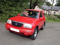 HI SPEC GRAND VITARA 4WD /LOW MILES/BRAND NEW MOT/IDEAL FOR THE ON COMING WINTER