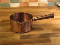 Mauviel French copper sugar pan