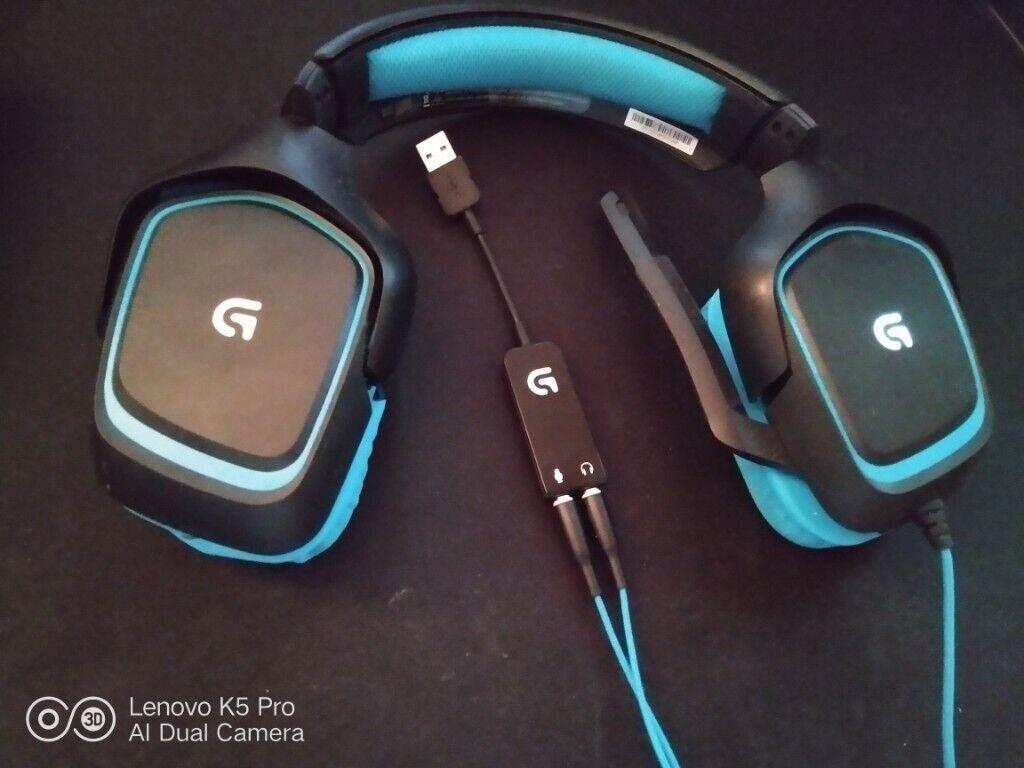 Logitech G430 7 1 surround sound Headphones PC | in Winchester, Hampshire |  Gumtree