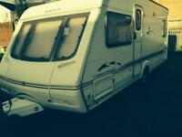 Swift challenger 500se fixed bed
