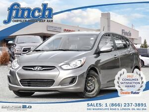 2014 Hyundai Accent Hatchback GS 1.6 L ENGINE/HEATED SEATS/WINTE