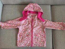 Good condition jojo maman Bebe outer shell coat size 2-3 years