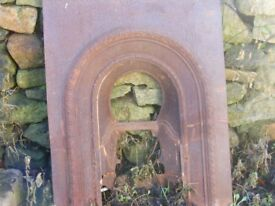 antique cast iron fire place for sale
