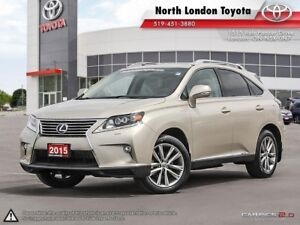 2015 Lexus RX 450h Sportdesign One Owner, Serviced by Toyota...