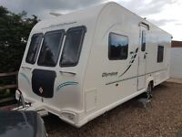 BAILEY OLYMPUS 534 4 BERTH FIXED BED CARAVAN 2010