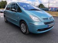 2005 Citroen Xsara Picasso 1.6 Desire 2 5Dr Blue Bargain Quick Sale 11 month mot petrol Manual mpv